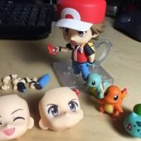 Figure Pokemon Figure Pikachu Red Charmander Bulbasaur Squirtle Goku