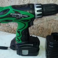 Cordless Driver Drill Hitachi DS14DFL - DS 14D