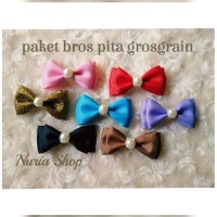 harga Bros Jilbab Paket Bross Pita Grosgrain Peniti Hijab Cantik Bunga Tokopedia.com