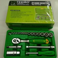 KUNCI SOK SET TEKIRO 21PCS / SHOCK SET TEKIRO