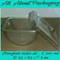 Jual Mangkok mika uk L / cup puding /mangkok salad Murah