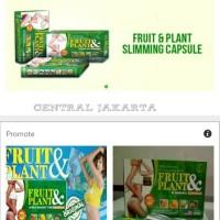 FRUIT & PLANT SLIMMING CAPSULE - PELANGSING KAPSUL ORIGINAL