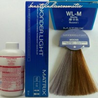 cat rambut matrix mocha hair color wonderlight