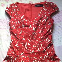 Minimal Dress merah (SOLD)