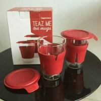 Gelas tupperware Teaz Me mugs ( 2 pcs )