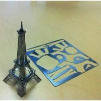 Jual Mainan Edukasi 3D Metal Puzzle Menara Eiffel Murah