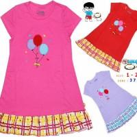 Dress Anak Branded Murah Leeva 379 B size 1-2-3