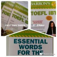Barron TOEFL IBT SUPERPACK 2 (3 BUKU)