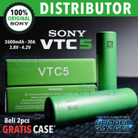 Sony VTC5 / VTC 5 18650 (ORIGINAL) Li-Ion Battery 3.7V 2600mAh
