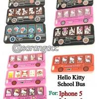 SOFT CASE KARTUN BUS SEKOLAH FOR IPHONE 5G/5S