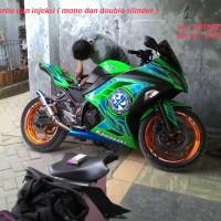 alarm motor ninja 250 fi + cara pasang bahasa indonesia lengkap