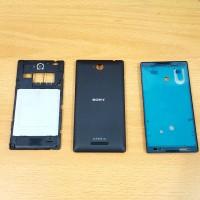 Casing Fullset Sony Xperia C / C2305 Original