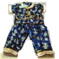 baju Imlek setelan cheongsam cowo imlek Anak Laki-laki baby boy biru