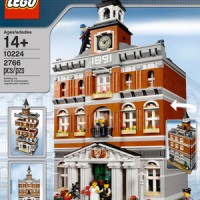 LEGO 10224 EXCLUSIVE CREATOR TOWN HALL