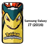 pokemon generations W3950 Samsung Galaxy J7 2016 Casing Premium Hardca