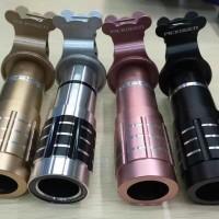 Lensa Pickogen Tele Zoom 12x Original + Clip Jepit, Kualitas no.1!