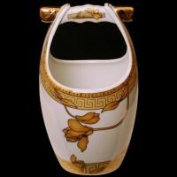 Vicenza Tempat Sendok Keramik Motif Lily (B-625) Baru | Peralatan Ma