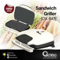 Oxone Sandwich Griller Ox-843 Baru | Alat Pemanggang Roti Online Mu