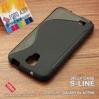 Samsung Galaxy S4 Active Soft Jelly Silicon Casing Case Cover Softcase
