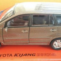 Diecast Toyota Kijang Innova Brown Nex Welly