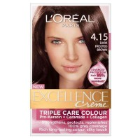 Loreal Excellence Cream no 4.15 Dark Frosted Brown