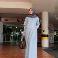 Arumi Dress Sporty   Gamis Hijabers Branded Cantik Modis Trendy