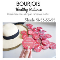 BOURJOIS HEALTHY BALANCE COMPACT POWDER SHADE 55