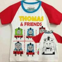 Kaos Anak Size 1-6 Thomas   Kaos Anak Karakter Murah