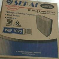 Sekai Wall Exhaust Fan Kipas Angin Dinding WEF 1090