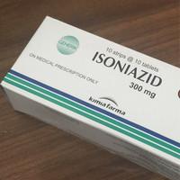 Isoniazid 300 mg INH 100's strip box