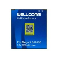 BATERAI HP SAMSUNG MEGA 5.8 WELLCOMM DOUBLE IC