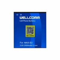 BATERAI HP ANDROMAX E2 WELLCOMM DOUBLE IC