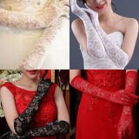 Jual Gloves sarung tangan brokat stretch tari dress wedding pengantin gaun Murah