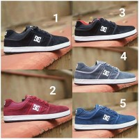 Sepatu DC Unlite Cowok Cowo Men Man Pria Suede Import Impor Sneakers 2