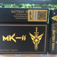 MK-II Battery / Baterai 18650 3000Mah 35A Authentic.