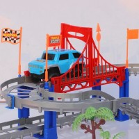 Mainan SUPER CAR TRACK Mobil Lintasan Racing Kado Anak Edukasi Laki