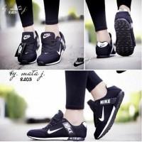 Jual Sepatu Wanita / Sepatu Murah / Kets Nike Spon Hitam Replika Murah