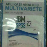 Aplikasi analisis multivariete IBM SPSS 23 BY Imam gozali