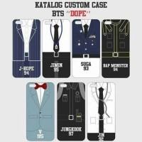 custom case BTS Dope bisa semua tipe HP custom casing kualitas terbaik