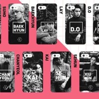 custom case EXO korea bisa semua tipe HP custom case kualitas terbaik