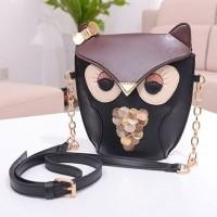 harga Tas Mini Bag Unik Wanita 83213 Coffee Import - Motif Owl Tokopedia.com