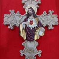 Jual Salib Gantung Ukiran Yesus Murah