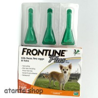 Frontline Plus for dogs 0 - 10kg (obat kutu untuk anjing)