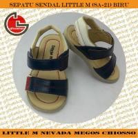 harga Sepatu Sendal Anak Little M (SA-21) Biru Tokopedia.com
