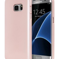 Samsung J7 Prime i Jelly Case Goospery Mercury Soft Cover ROSE GOLD