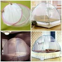Kelambu Lipat Korea 160 x 200 single bed canopy portable