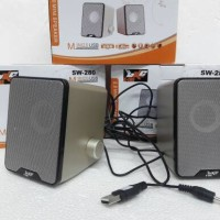 Speaker Multimedia 2.0 SW-280 SUPER BASS ( High Quality )