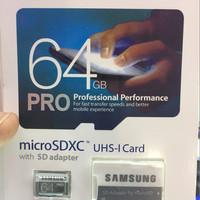 Microsd Samsung PRO 64GB 90MB/S micro sd card UHS-I Card