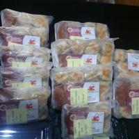 Jual ready stock siomay frozen (beku) kemasan plastik biasa Murah