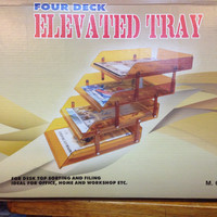 Elevated Tray - Micro Top - 4 Deck Model (Model M604)